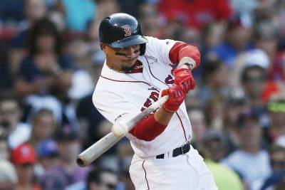 Mookie Betts, the 2018 AL MVP, has reportedly been trade from Boston to the Los Angeles Dodgers. AP photo