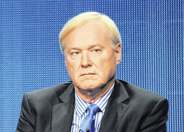 """MSNBC host Chris Matthews takes part in a 2011 panel discussion at the NBC Universal summer press tour in Beverly Hills, Calif. Matthews announced his abrupt retirement on his political talk show """"Hardball with Chris Matthews"""" on Monday."""