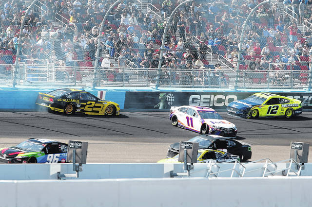 Joey Logano Wins a Wild Race in Phoenix Featured