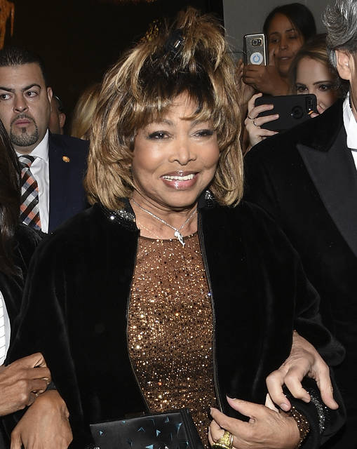 """FILE - This Nov. 7, 2019 file photo shows singer Tina Turner at the opening night of """"Tina - The Tina Turner Musical"""" at the Lunt-Fontanne Theatre in New York. Turner's song """"Private Dancer""""is among 25 recordings being inducted to the National Recording Registry. (Photo by Evan Agostini/Invision/AP, File)"""