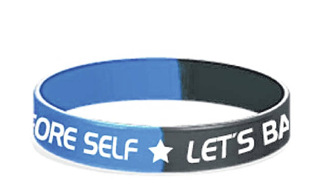 Back The Blue Wristbands