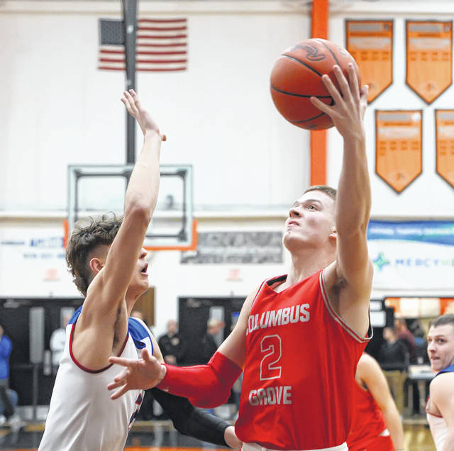 Columbus Grove's Blake Reynolds was co-player of the year in Division IV.
