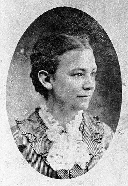 Bessie Crayton headed Lima's Political Equality Club and was the backbone of the local suffrage movement.