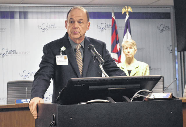 Dr. Dennis Morris, chief medical officer at Lima Memorial Health System, on Tuesday urged residents to call a newly-established Community Call Center before visiting emergency rooms or medical professionals with questions and concerns about the coronavirus pandemic. The number is 419-226-9000.