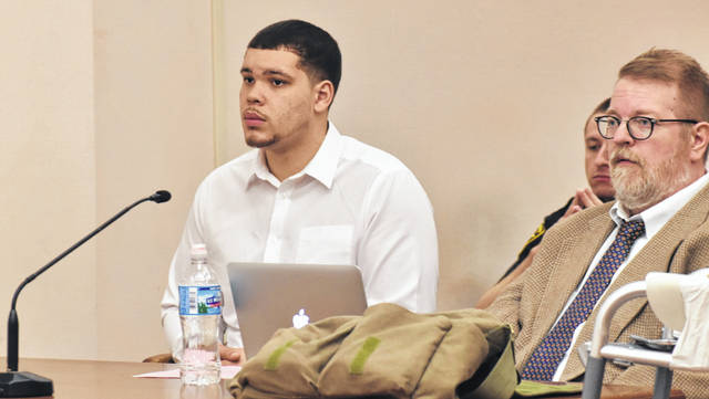 Lima resident Derrick Irons, 23, will be sentenced April 20 after pleading guilty Tuesday to second-degree felony charges of burglary and the improper discharge of a weapon into a habitation.