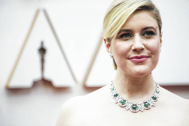Greta Gerwig arrives at the 92nd Academy Awards on Sunday, Feb. 9, 2020, at the Dolby Theatre at Hollywood & Highland Center in Hollywood, Calif.