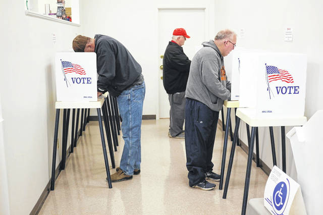 Voters hit the polls Sunday for Ohio's primary election.