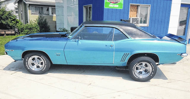 Gary Eitzman traded a classmate his 1969 Chevy Chevelle for this 1969 Chevy Camaro SS. He still has it today.