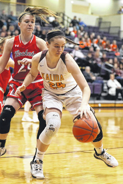 Kalida's Abbie Wurth, who missed some early games for the Wildcats, has been one of many contributors to the team's success this year.