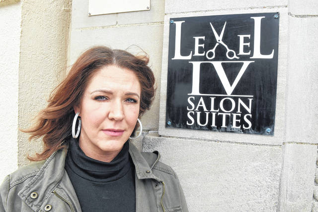 Maggie Curtis owner of Level IV Salon Suites in Lima.