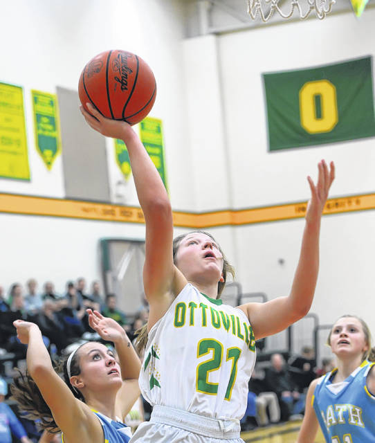 Ottoville's Nicole Knippen was selected to the second team 2020 Division IV girls basketball All-Ohio squad.