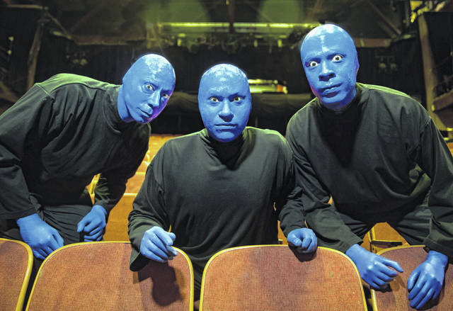 """Blue Man Group"" returns to Lima Monday."
