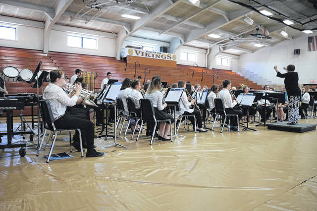 The All County Band performs Sunday at Leipsic High School as part of the Putnam County Arts Festival.