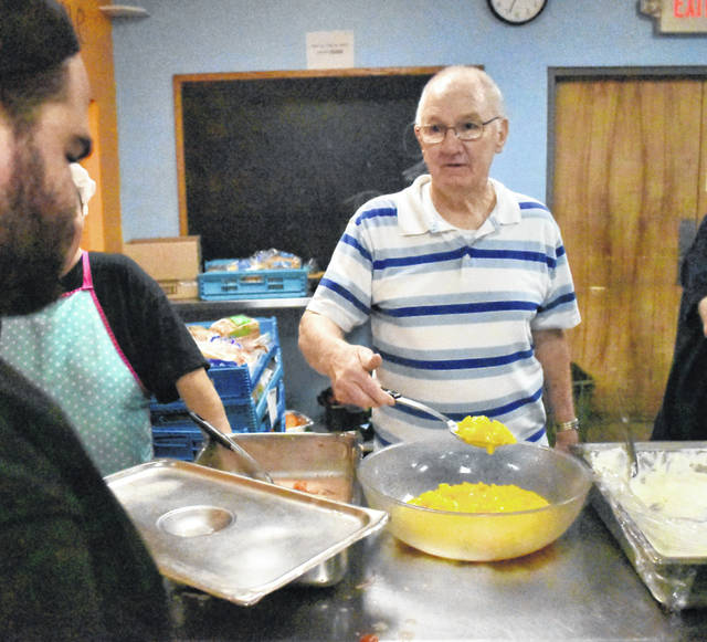 Richard Bowe Sr., of Lima, is a Jefferson Award winner. He volunteers regularly at the Our Daily Bread soup kitchen and the American Red Cross. In between those labors of love, he takes satisfaction in helping out his neighbors on Southwood Drive.