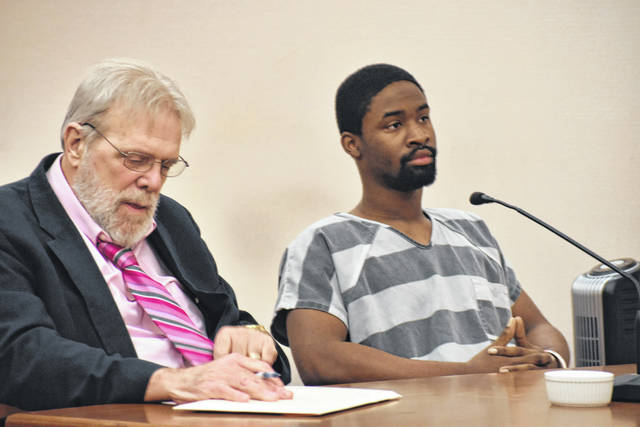 Jason Sledge, 20, of Lima, was sentenced Thursday to seven years in prison for his role in the armed robbery of a Lima woman last fall.