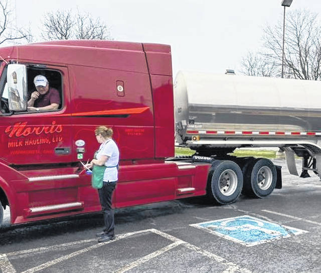 Lucky Steer in Wapakoneta is giving truckers 40% off their meal order after the dine-in portion of all Ohio restaurants were closed as a precaution from the COVID-19 virus.