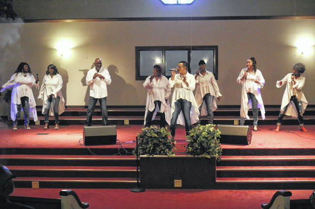 The Wise Angels reunited Sunday at Shiloh Missionary Baptist Church to honor the group's founder Pastor Fayne Wise.