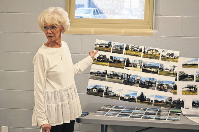 Ruth Hollenbacher objected to Bath Township Trustees plans for the state Route 309 Corridor Overlay District.