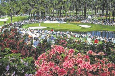 Those expecting to watch play on the par three 16th hole during the Masters at Augusta National Golf Club in Augusta, Ga., in April will have to wait after the event was postponed.
