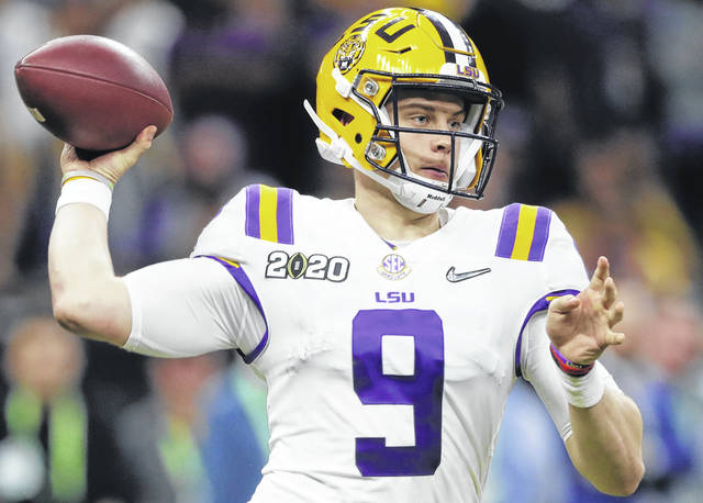 Quarterback Joe Burrow out of LSU appears to be a good fit for Cincinnati head coach Zac Taylor's system and he'll spark interest — at least initially — in a fan base that's largely apathetic.