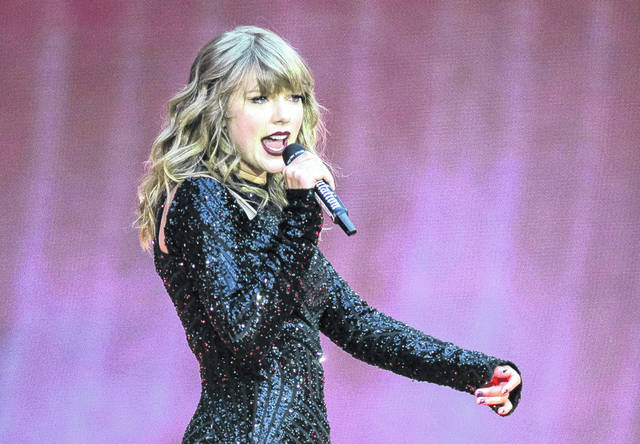 """Singer Taylor Swift performs on stage in concert at Wembley Stadium in London last June. Swift is canceling all of her performances and appearances for the rest of the year because of the coronavirus pandemic. """"With many events throughout the world already cancelled, and upon direction from health officials in an effort to keep fans safe and help prevent the spread of COVID-19, sadly the decision has been made to cancel all Taylor Swift live appearances and performances this year,"""" Swift's representative said in a statement released Friday."""