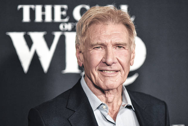 "Harrison Ford attends the premiere of ""The Call of the Wild"" in Los Angeles on Feb. 13. Ford was piloting a plane that wrongly crossed a runway where another plane was landing. Federal authorities are investigating, officials and a representative for the actor said Wednesday."