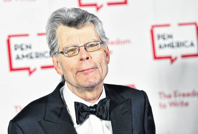 FILE - This May 22, 2018 file photo shows Stephen King at the 2018 PEN Literary Gala in New York. With independent bookstores shut down nationwide, a new online seller is offering help. In January, Andy Hunter launched Bookshop.org. Simon & Schuster is adding buy buttons for Bookshop.org to all of its websites and promoting Bookshop through emails and elsewhere online. It also has enlisted numerous authors, among them Stephen King, Susan Orlean and Jason Reynolds, to get the word out about Bookshop on social media and elsewhere.