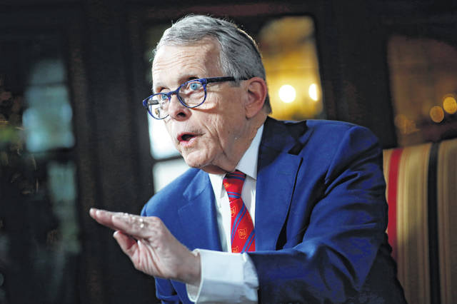 Gov. DeWine said plans for schools would come next week.