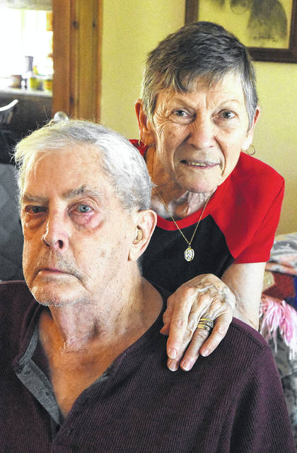 John and Mary Norman are like so many senior citizens today. The coronavirus pandemic sweeping across the country has them worried and shut inside their homes.