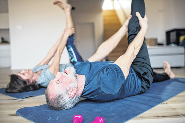 Exercises for seniors in the time of COVID19 can be simple and use things you already have around the house.