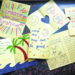 Scouts provide cards to local senior citizens