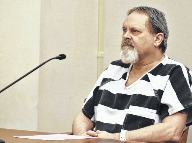 James Overmeyer, 66, of Lima faces a possible prison term of life without parole when he is sentenced May 28 on four counts of rape. One of the counts involves a victim under the age of 10.