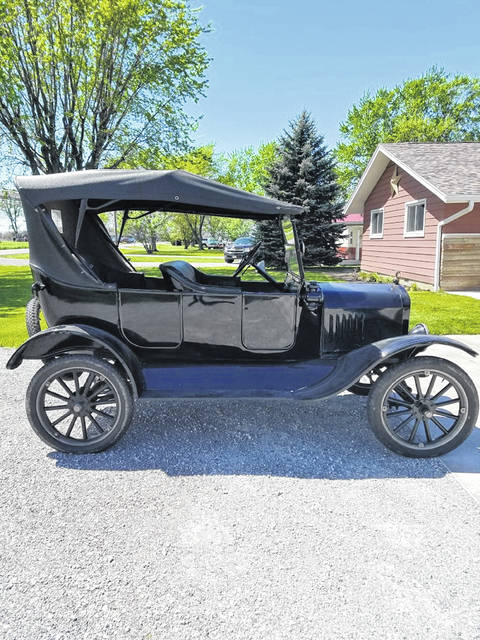 This 1924 Ford Model T Touring car is one of nine Model T's owned by Randy Roof, of Spencerville.