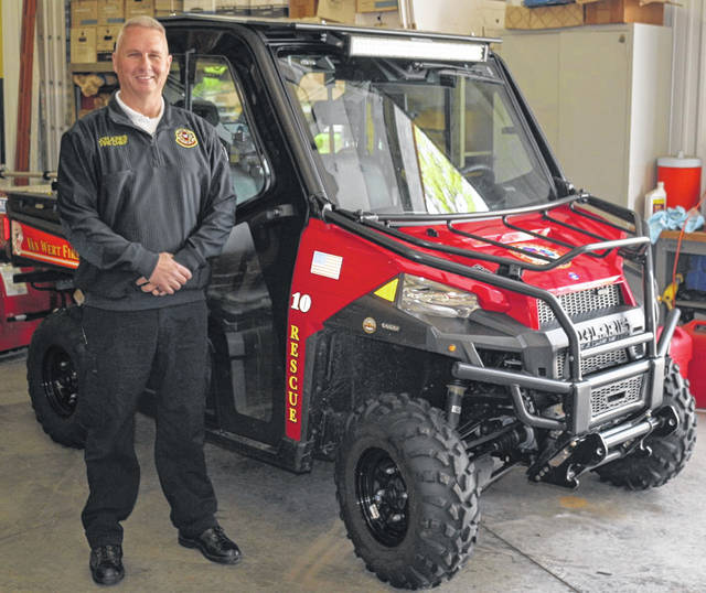 Rescue 10 is proving its worth to the Van Wert Fire Department. Pictured is Fire Chief Jon Jones.