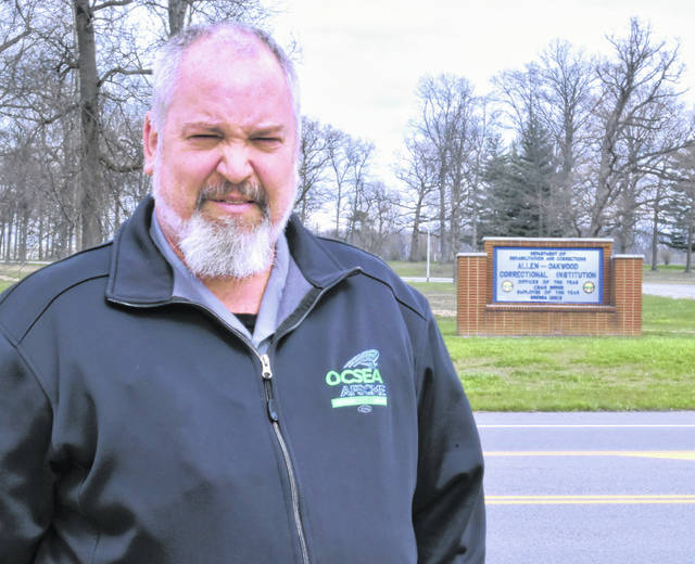 Shawn Gruber, a 26-year employee at Allen Oakwood Correctional Institution and president of the OCSEA Corrections Assembly representing more than 8,800 prison workers statewide, said the collective bargaining agreement between the state and the union is largely being ignored during the novel coronavirus pandemic.