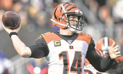 Andy Dalton went 70-61-2 record as a starter for the Cincinnati Bengals.