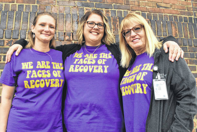 "Sara Hollar, Lisa Ashafa and Jan Mulcahy are among the members of a mobile response team operated by Coleman Professional Services to address ""family-defined crisis"" situations in homes throughout Allen, Auglaize, Hardin and Putnam counties."