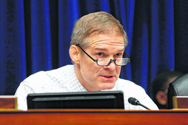 "U.S. Rep. Jim Jordan R-Urbana, called for the House Judiciary Committee to examine ""threats to liberty"" during an appearance on Fox News on Saturday."