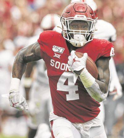 Ohio State transfer Trey Sermon rushed for more than 2,000 yards in three seasons at Oklahoma.