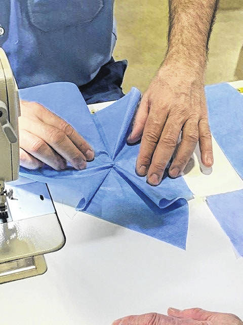 In addition to sewing hospital gowns, inmates at Allen Oakwood Correctional Institute will in the near future begin producing surgical masks, with a goal of 2 million masks to be made at the Lima prison and the Ohio Reformatory for Women in Marysville.
