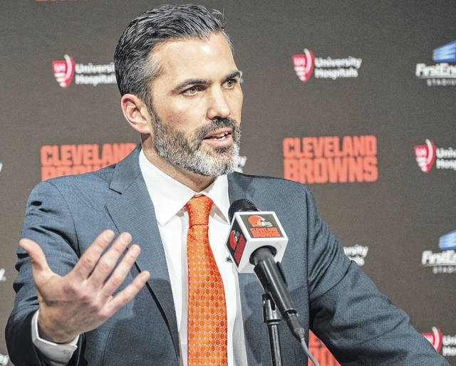 Head coach Kevin Stefanski and the Cleveland Browns play seven straight opponents that did not have winning records last season.