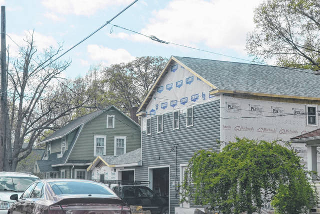 The duplex at 1414 Hazel Ave. has caused the City of Lima to take a closer look at permits filed by Blue Chip Housing after city councilors found that the building was erected without approved proper building permits.