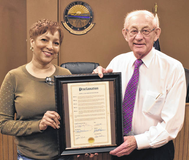 Thursday was officially Cheryl Callahan Day in Lima Municipal Court when Chief Magistrate Richard Warren presented Callahan with a proclamation to that effect on the final day of her 35-year career at the court.