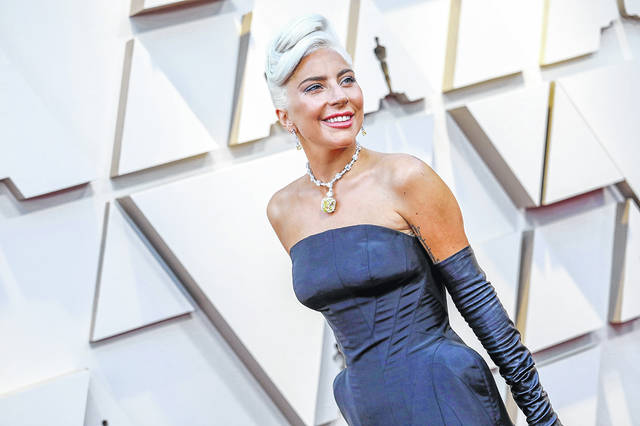 """Lady Gaga during arrivals at the 91st Academy Awards on Sunday, Feb. 24, 2019, at the Dolby Theatre at Hollywood & Highland Center in Hollywood, Calif. Lady Gaga announced her new album, """"Chromatica,"""" will release on May 29."""