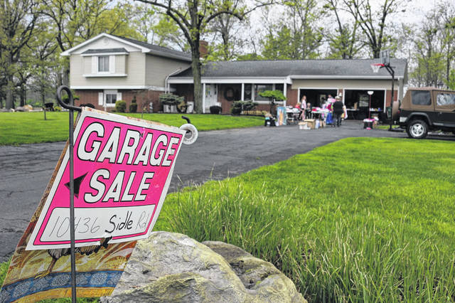 It's garage sale season and the Ohio Department of Health wants hosts to protect customers against COVID-19