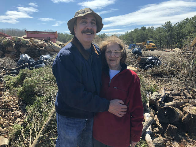 At the landfill on our anniversary. (Jerry Zezima/TNS)