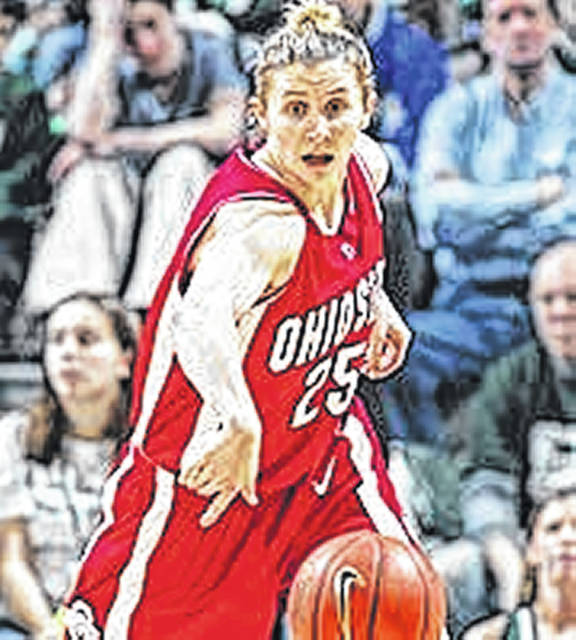 Caity Matter Henniger had 1,523 points during her time playing for Ohio State.