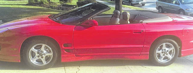 Kenny Coats, of Lima, has owned this 1999 Pontiac Firebird for three years. It's completely original with just 18,000 miles on it.