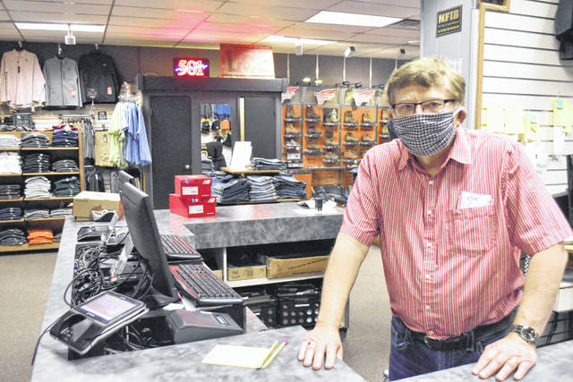 Tom Gustwiller said there was never a doubt his clothing store in downtown Ottawa would reopen at the first opportunity following a state-mandated shutdown due to the spread of COVID-19 cases in Ohio.