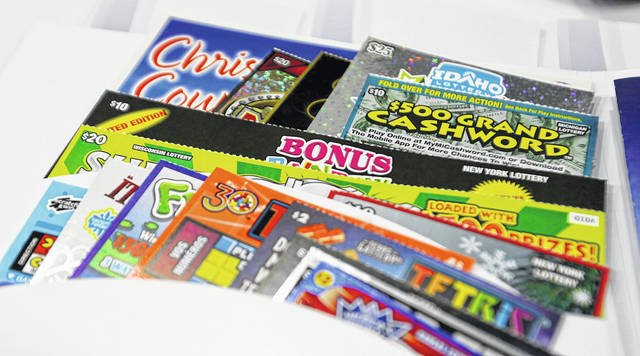 Instant lottery tickets are printed at Pollard Banknote in Ypsilanti, Mich., in September 2015. Demand for scratch-off tickets soared as Americans followed stay-at-home orders.